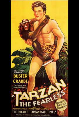 Tarzan the Fearless - 27 x 40 Movie Poster - Style A