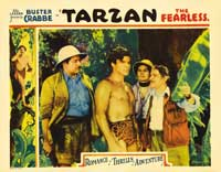Tarzan the Fearless - 22 x 28 Movie Poster - Half Sheet Style A
