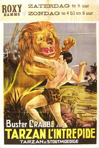Tarzan the Fearless - 11 x 17 Movie Poster - French Style A