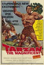 Tarzan the Magnificent - 27 x 40 Movie Poster - Style A
