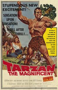 Tarzan the Magnificent - 11 x 17 Movie Poster - Style A