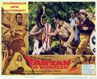 Tarzan the Magnificent - 11 x 14 Movie Poster - Style C