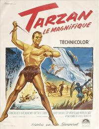 Tarzan the Magnificent - 11 x 17 Movie Poster - French Style A