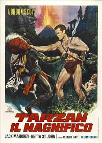 Tarzan the Magnificent - 27 x 40 Movie Poster - Italian Style A