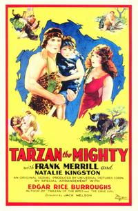 Tarzan the Mighty - 11 x 17 Movie Poster - Style A