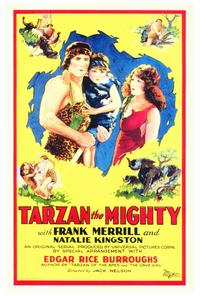 Tarzan the Mighty - 27 x 40 Movie Poster - Style A