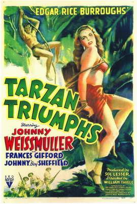 Tarzan Triumphs - 11 x 17 Movie Poster - Style A