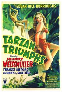 Tarzan Triumphs - 27 x 40 Movie Poster - Style A