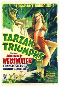 Tarzan Triumphs - 43 x 62 Movie Poster - Bus Shelter Style A