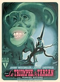 Tarzan Triumphs - 11 x 17 Movie Poster - French Style A