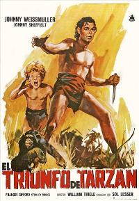 Tarzan Triumphs - 27 x 40 Movie Poster - Spanish Style A