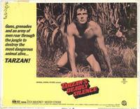 Tarzans Deadly Silence - 11 x 14 Movie Poster - Style E