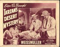 Tarzan's Desert Mystery - 11 x 14 Movie Poster - Style A
