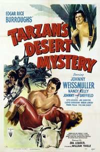 Tarzan's Desert Mystery - 11 x 17 Movie Poster - Style A