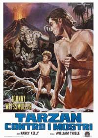 Tarzan's Desert Mystery - 27 x 40 Movie Poster - Style B