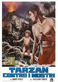 Tarzan's Desert Mystery - 11 x 17 Movie Poster - Italian Style A