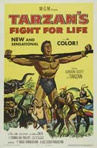 Tarzan's Fight for Life - 11 x 17 Movie Poster - Style C