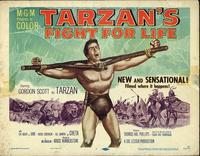 Tarzan's Fight for Life - 11 x 14 Movie Poster - Style A