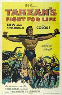 Tarzan's Fight for Life - 11 x 17 Movie Poster - Style A
