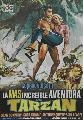 Tarzan's Greatest Adventure - 11 x 17 Movie Poster - Spanish Style A