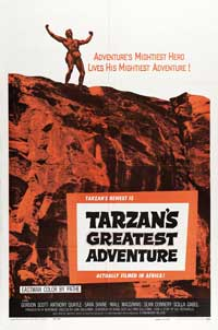 Tarzan's Greatest Adventure - 11 x 17 Movie Poster - Style A