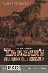Tarzan's Hidden Jungle - 27 x 40 Movie Poster - Style A