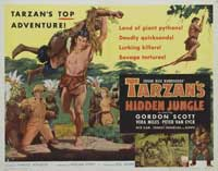 Tarzan's Hidden Jungle - 22 x 28 Movie Poster - Half Sheet Style A