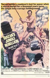 Tarzan's Jungle Rebellion - 11 x 17 Movie Poster - Style A