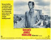 Tarzan's Jungle Rebellion - 11 x 14 Movie Poster - Style D