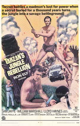 Tarzan's Jungle Rebellion - 27 x 40 Movie Poster - Style A