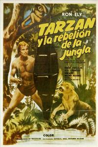 Tarzan's Jungle Rebellion - 11 x 17 Movie Poster - Spanish Style A