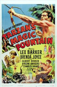 Tarzan's Magic Fountain - 27 x 40 Movie Poster - Style A