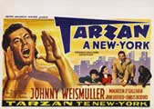 Tarzan's New York Adventure - 22 x 28 Movie Poster - Half Sheet Style A
