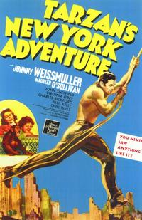 Tarzan's New York Adventure - 11 x 17 Movie Poster - Style A