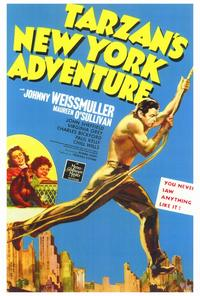 Tarzan's New York Adventure - 27 x 40 Movie Poster - Style A