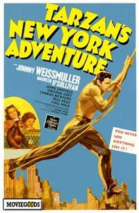 Tarzan's New York Adventure - 43 x 62 Movie Poster - Bus Shelter Style A