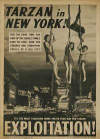 Tarzan's New York Adventure - 11 x 17 Movie Poster - Style C