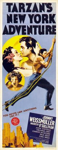 Tarzan's New York Adventure - 14 x 36 Movie Poster - Insert Style A