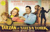 Tarzan's New York Adventure - 11 x 17 Movie Poster - Spanish Style A