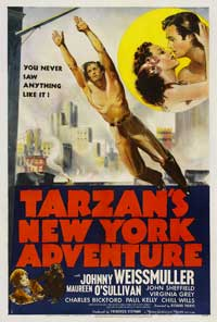 Tarzan's New York Adventure - 43 x 62 Movie Poster - Bus Shelter Style B