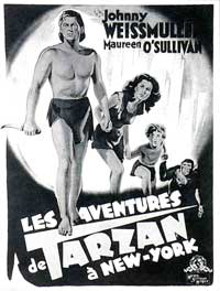 Tarzan's New York Adventure - 11 x 17 Movie Poster - Style D