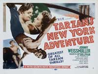 Tarzan's New York Adventure - 11 x 14 Movie Poster - Style C