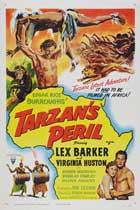 Tarzan's Peril - 11 x 17 Movie Poster - Style B