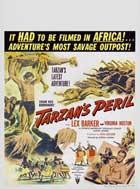 Tarzan's Peril - 27 x 40 Movie Poster - Style C