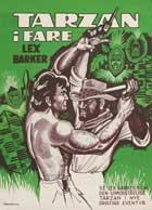 Tarzan's Peril - 11 x 17 Movie Poster - Danish Style A