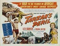 Tarzan's Peril - 22 x 28 Movie Poster - Half Sheet Style A