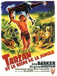 Tarzan's Peril - 11 x 17 Movie Poster - French Style A