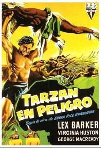 Tarzan's Peril - 11 x 17 Movie Poster - Spanish Style A