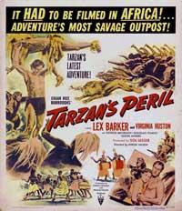 Tarzan's Peril - 11 x 17 Movie Poster - Style A