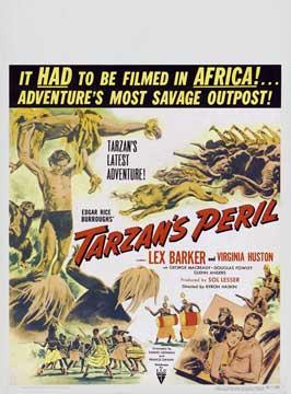 Tarzan's Peril - 11 x 17 Movie Poster - Style C